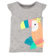 Camiseta Carter's Tucaninha Colorida