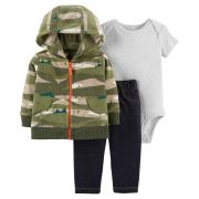 Conjunto Carter's Fleece Camuflado