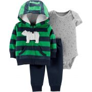 Conjunto Carters Urso Polar fleece
