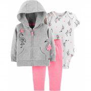 Conjunto Flamingo Neon Carter's