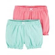 Kit com 2 shorts Carters
