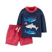 Kit Praia Carter's Tubarões