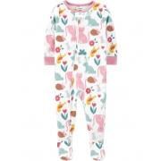 Pijama Animais Fleece Carter's