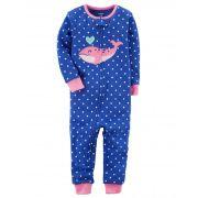 Pijama Carter's Love Baleia