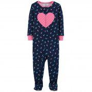 Pijama Carters Floral Heart
