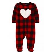Pijama Coração Fleece Carter's