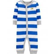 Pijama listrado Azul Carters