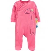 Pijama Sleep and Play Dino Rosa Carters