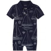Romper Azul Sailboat Ralph Lauren