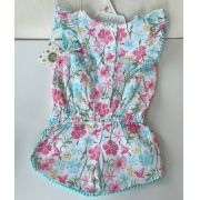 Romper Flores Little Me