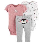 Trio Carters Pinguim Girl