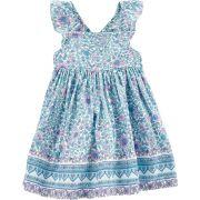 Vestido Azul Floral Oshkosh