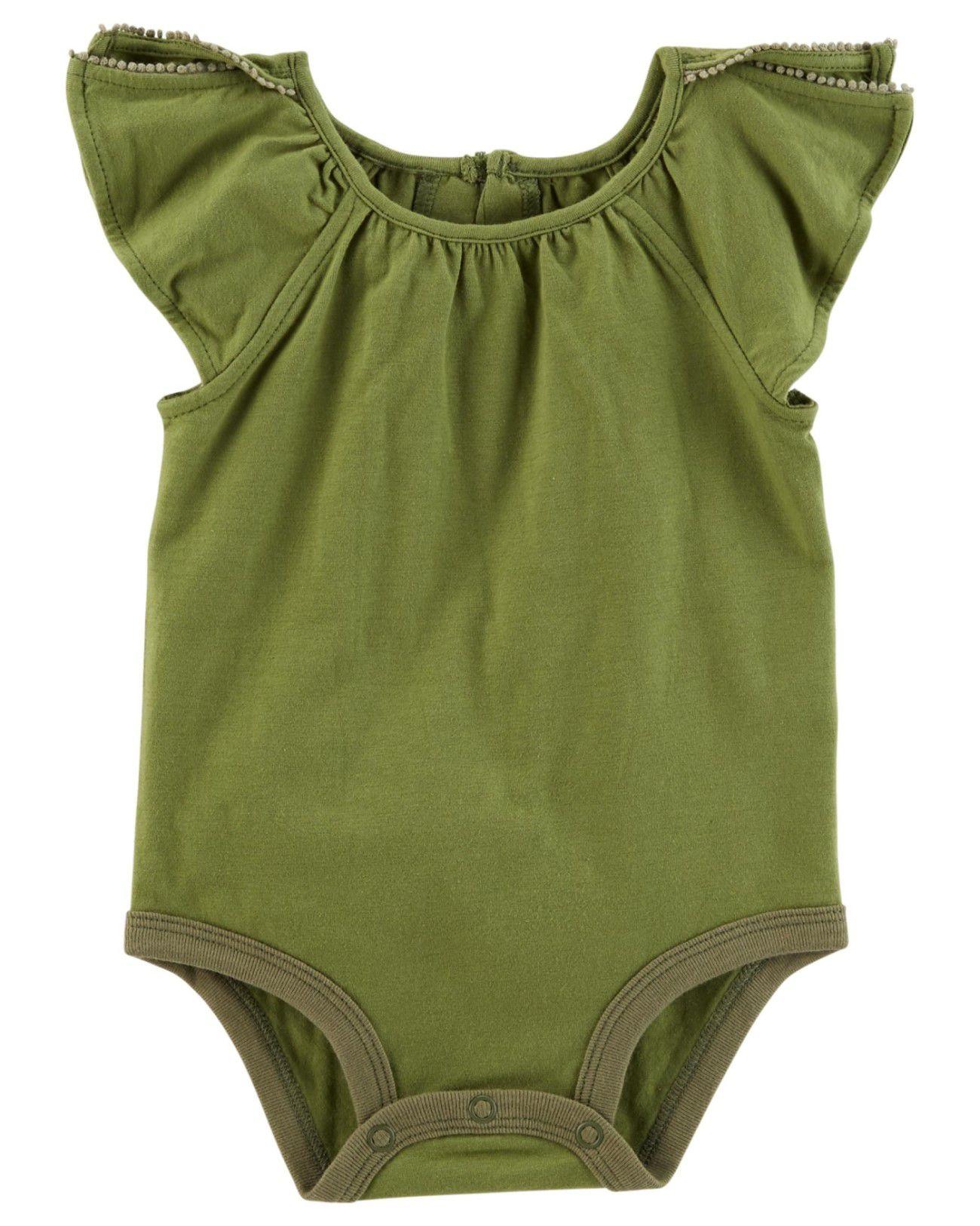 Body Blusinha Carter's Verde