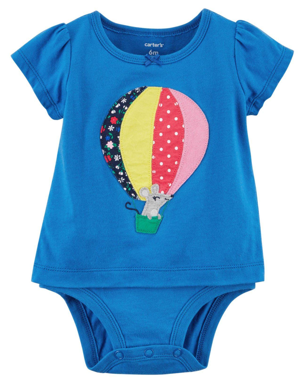 Body Camiseta Carter's Balão