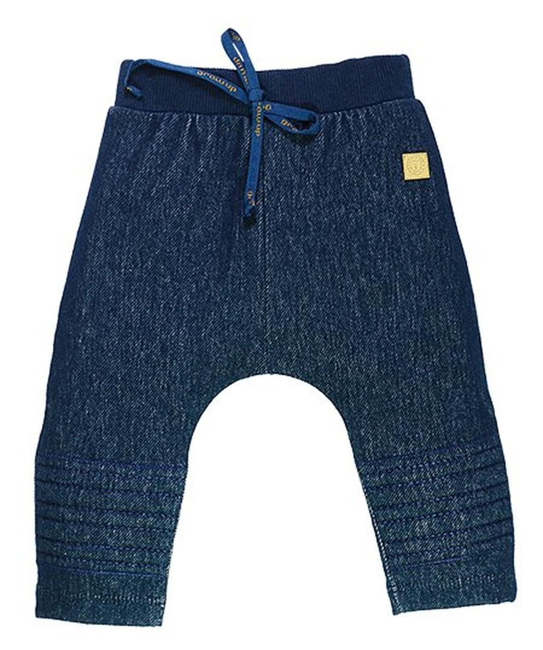Calça Infantil Unissex em Cotton Blue Denim Grow Up