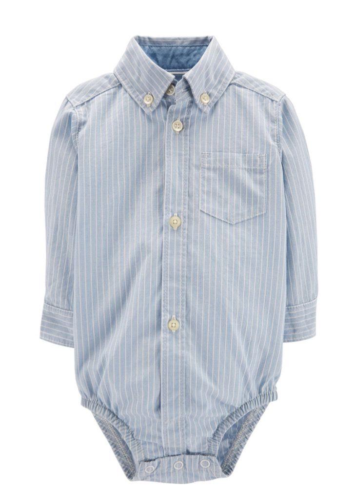 Camisa Body Carter's Listrada