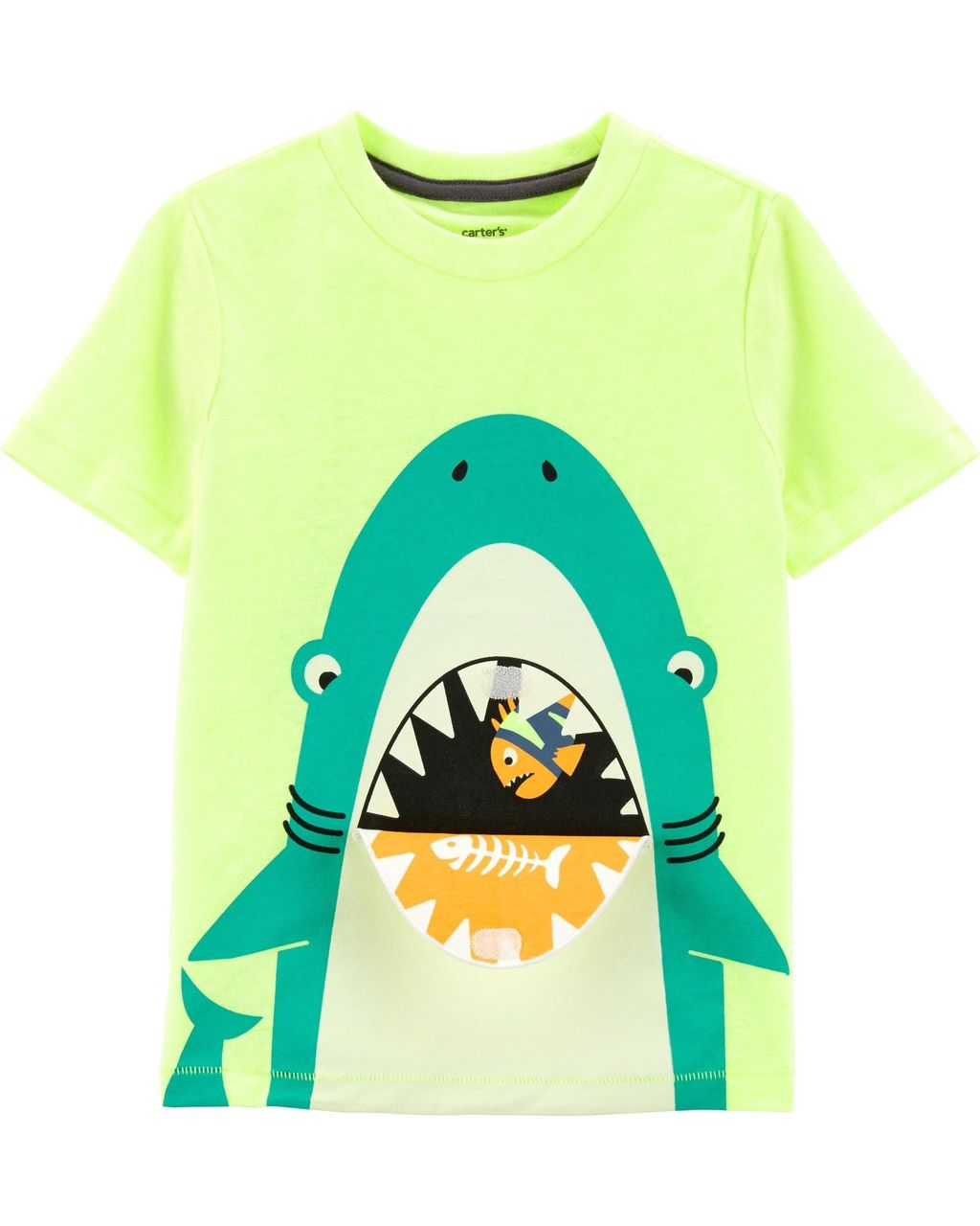 Camiseta Amarela Shark Carters