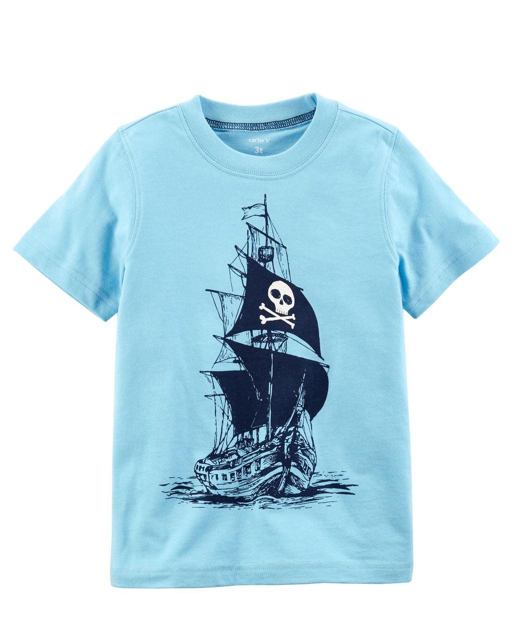 Camiseta Barco Carter's