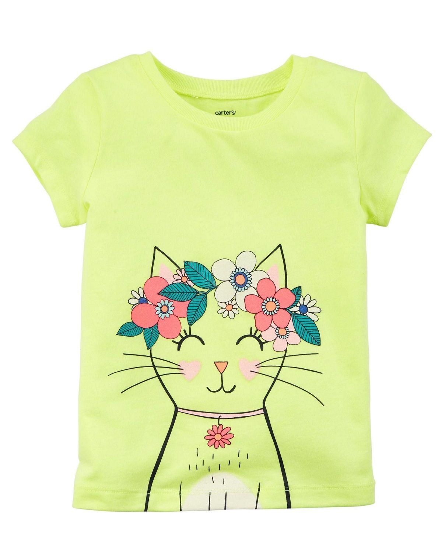 Camiseta Gatinha Carters