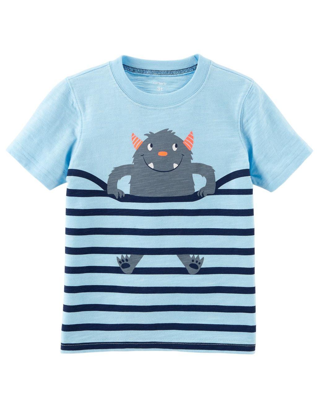 Camiseta Monstrinho Carters