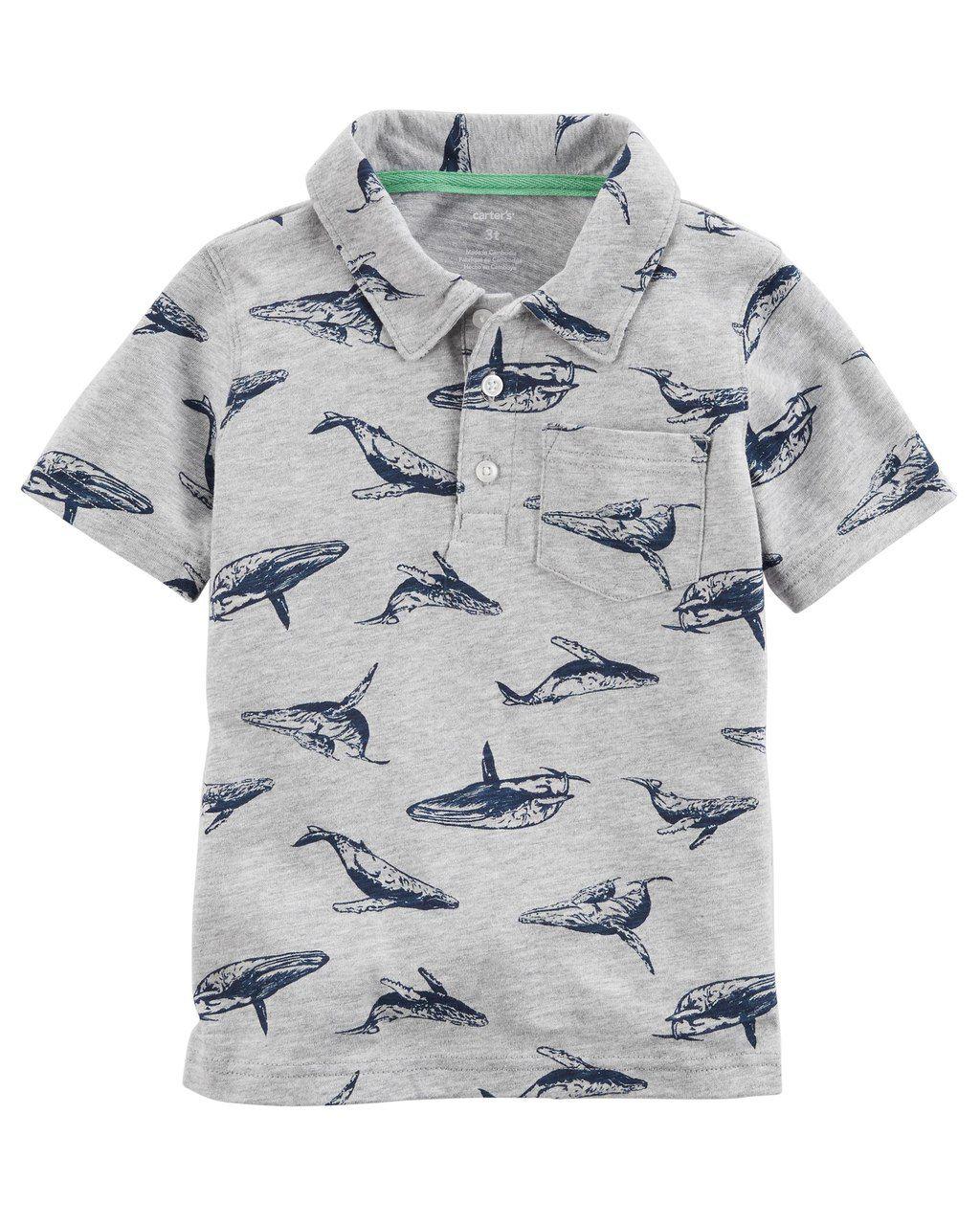 Camiseta Polo Baleias Carters