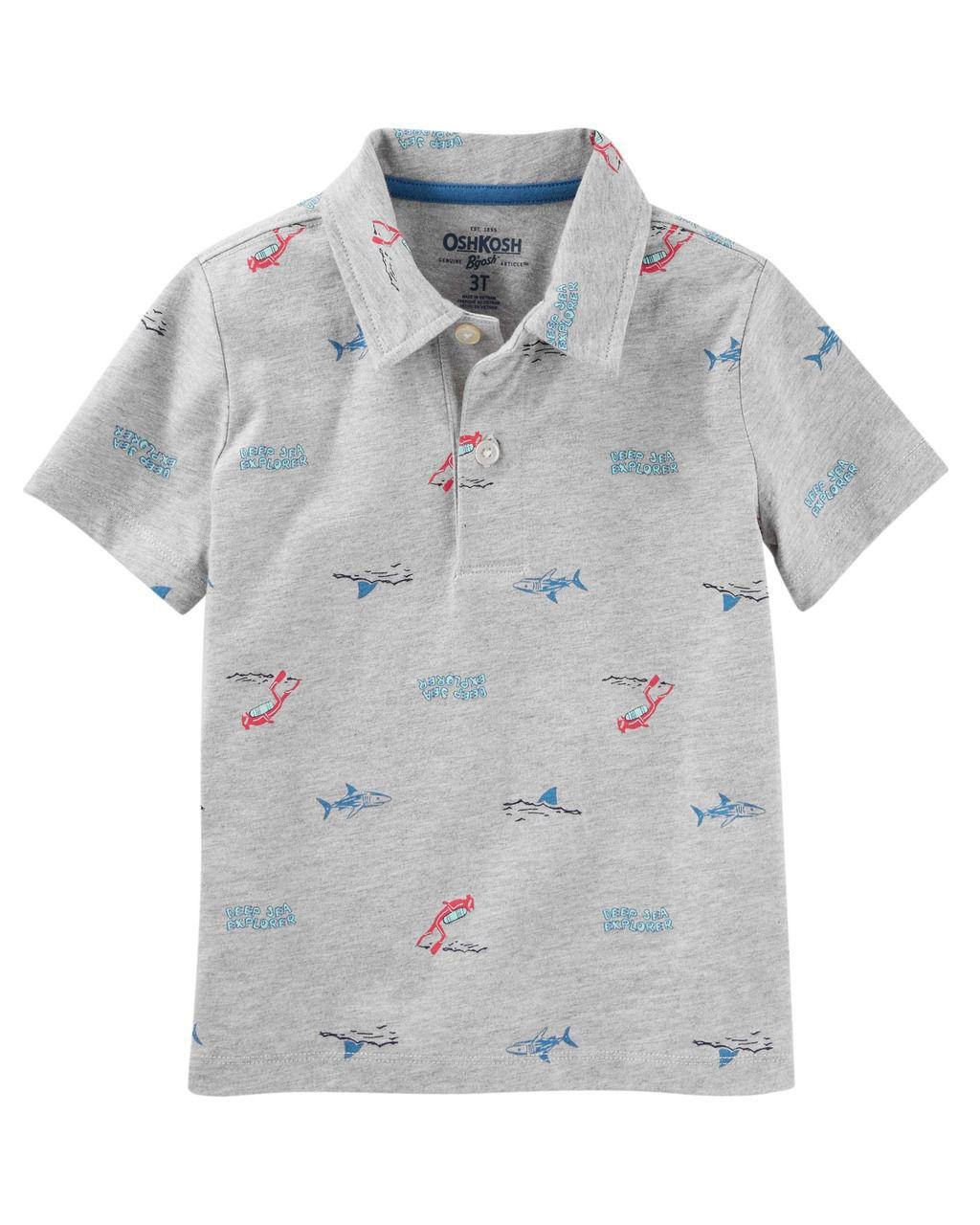 Camiseta Polo Scuba Diver Oshkosh