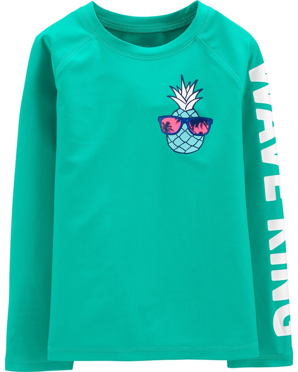 Camiseta Praia Abacaxi Wave King Oshkosh