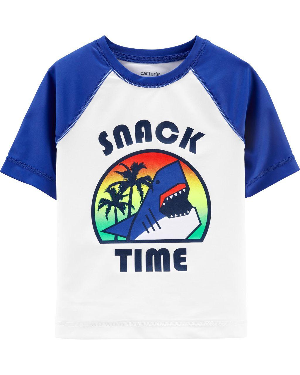 Camiseta Praia Oshkosh Snack Time