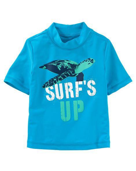 Camiseta Praia OshKosh Tartaruga