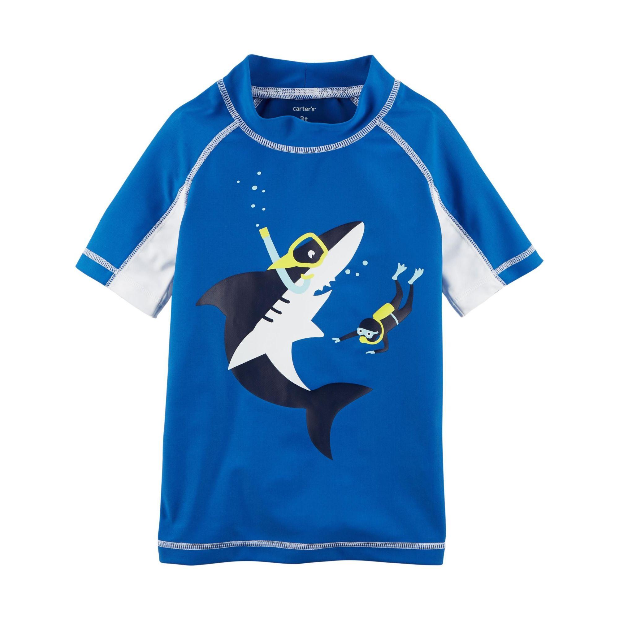 Camiseta Praia Carter's Tubarão Nadador