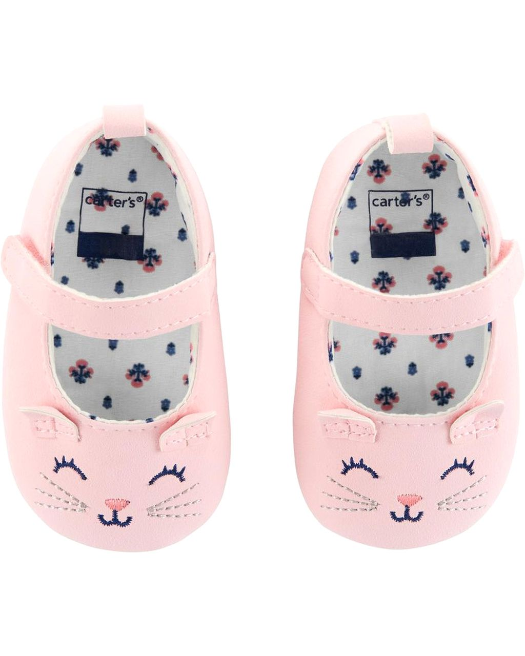 Cat Mary Jane Baby Shoes