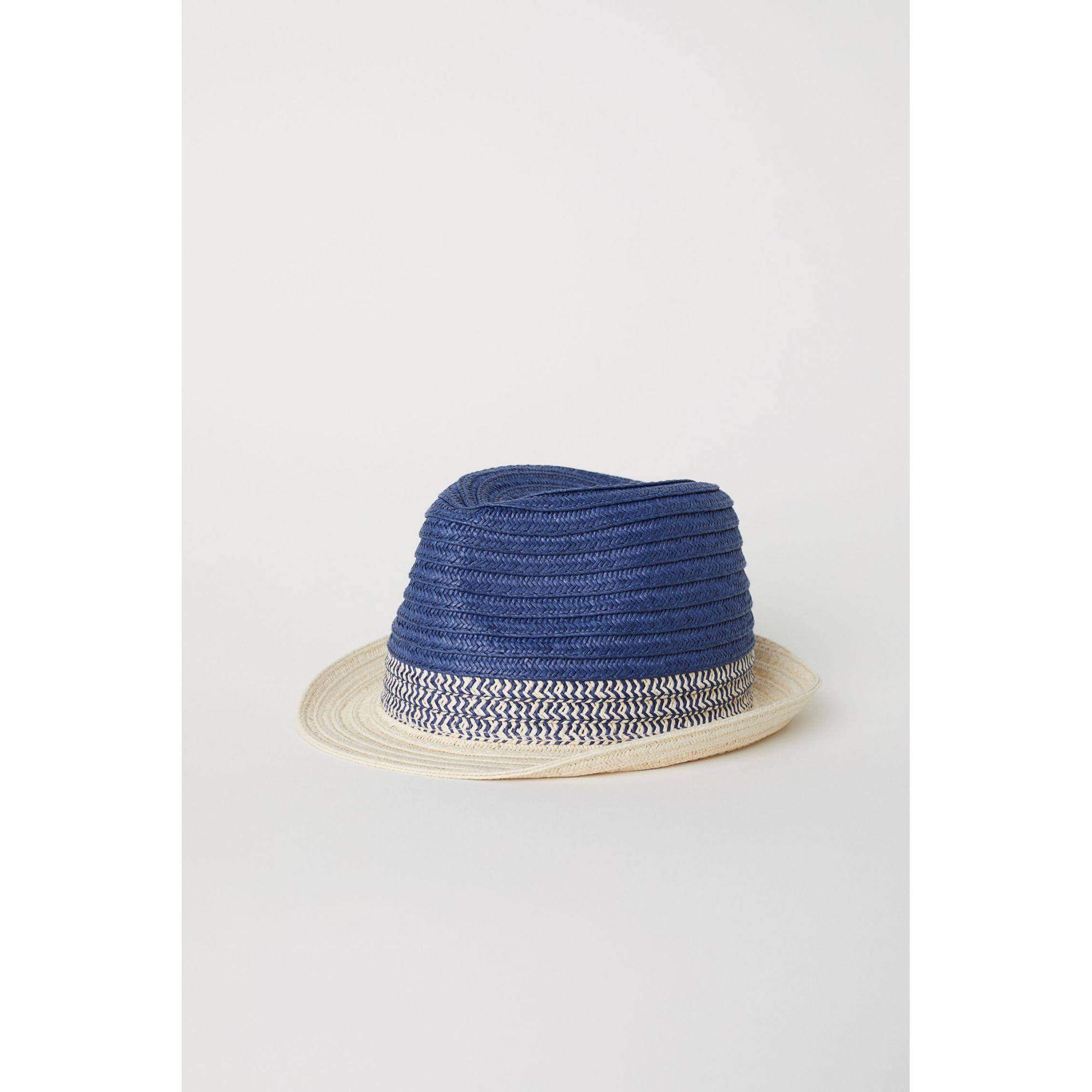 Chapéu de Palha Trancado H&M