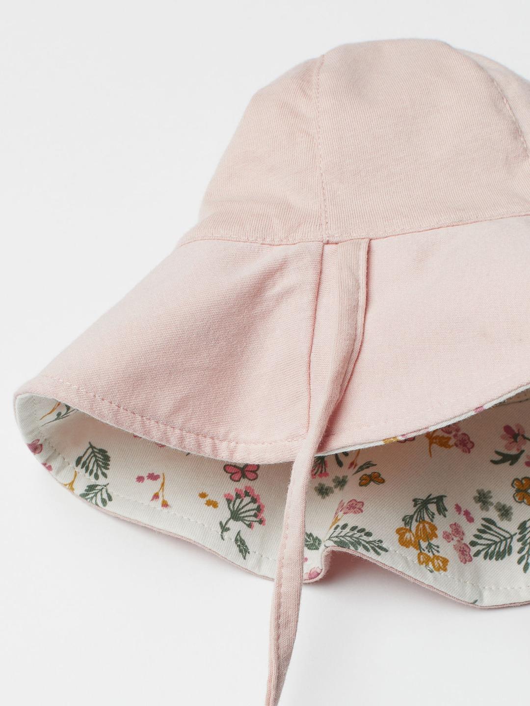 Chapéu de Sol Reversível Floral H&M