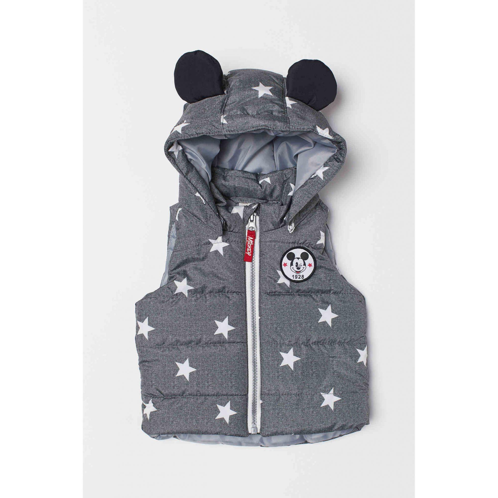 Colete Acolchoado Mickey H&M