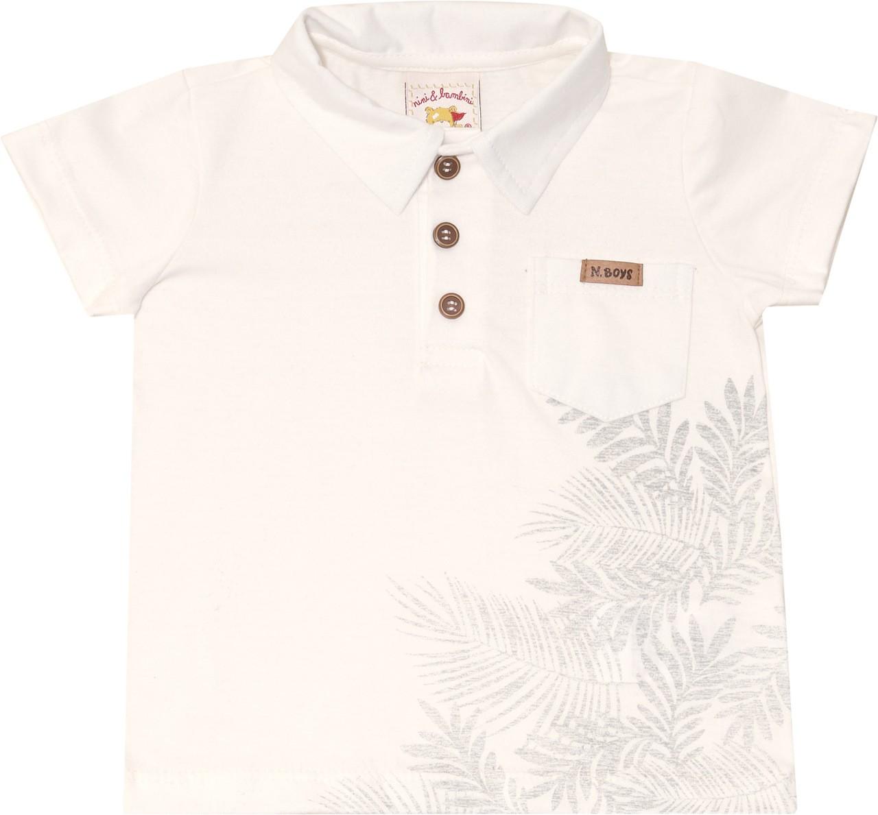 Conjunto Camiseta Polo Nini & Bambini