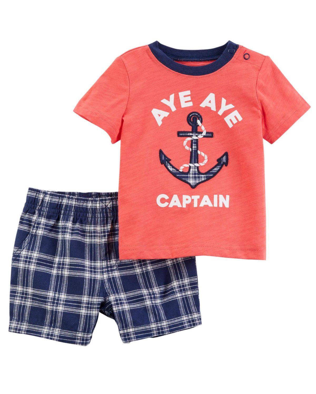 Conjunto Carter's Aye Aye Captain