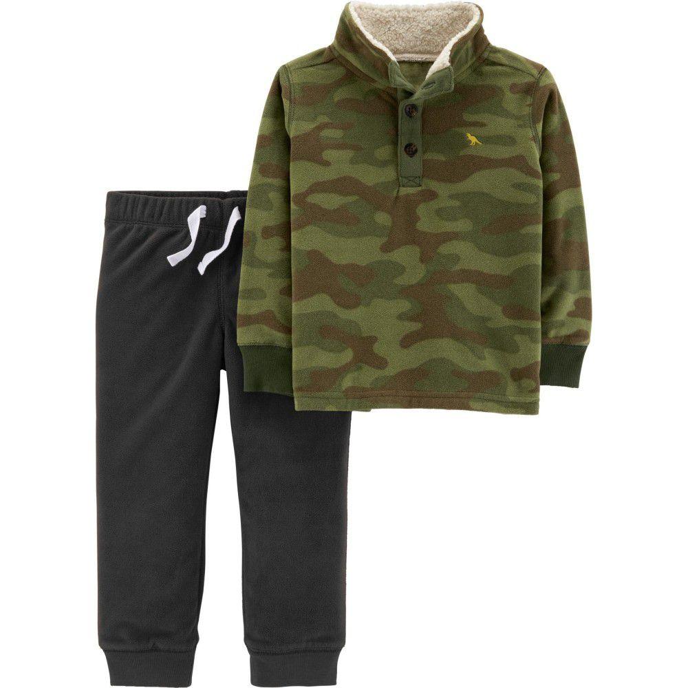 Conjunto Carter's Camuflado Pullover Fleece
