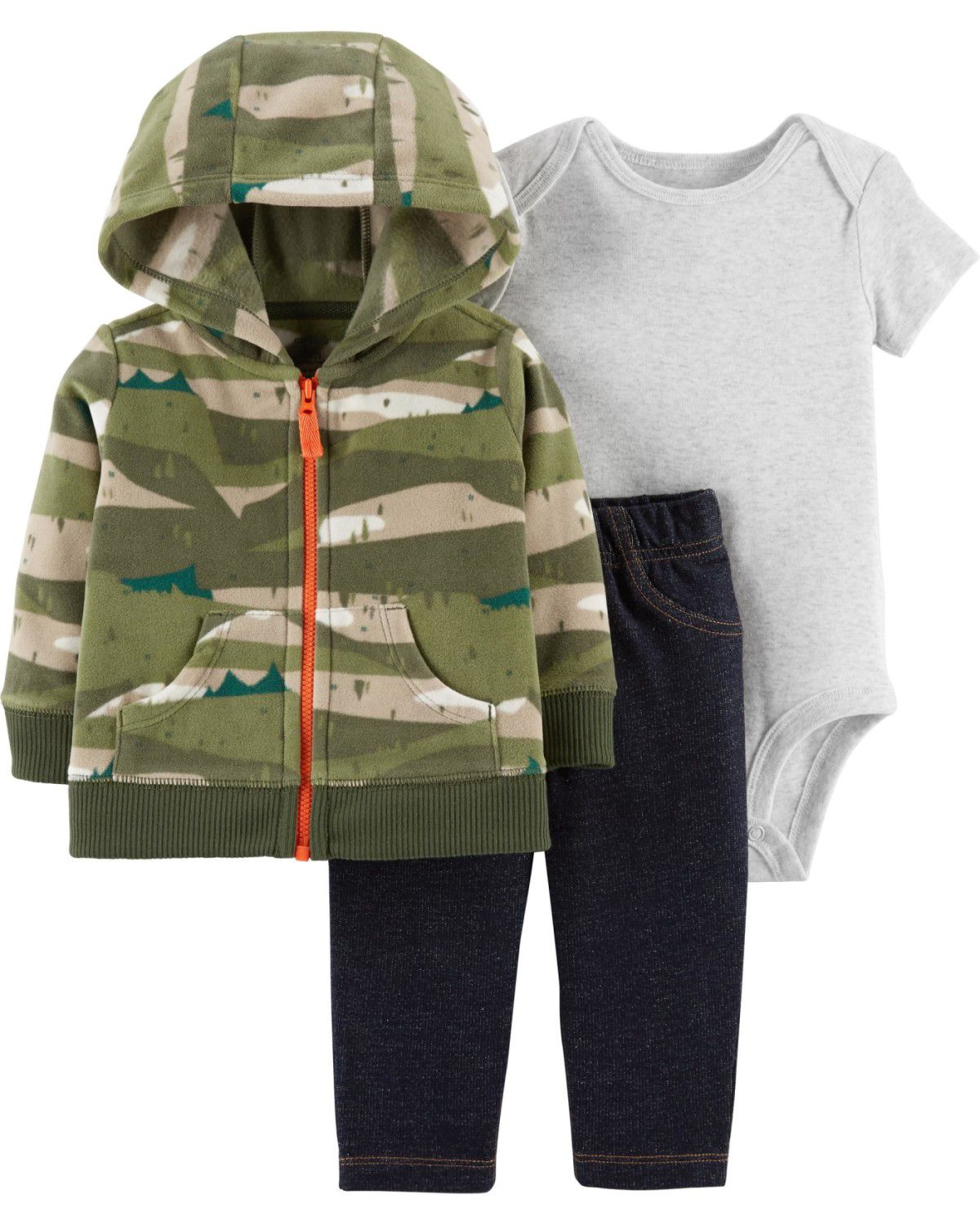 Conjunto Carter's Exército Fleece