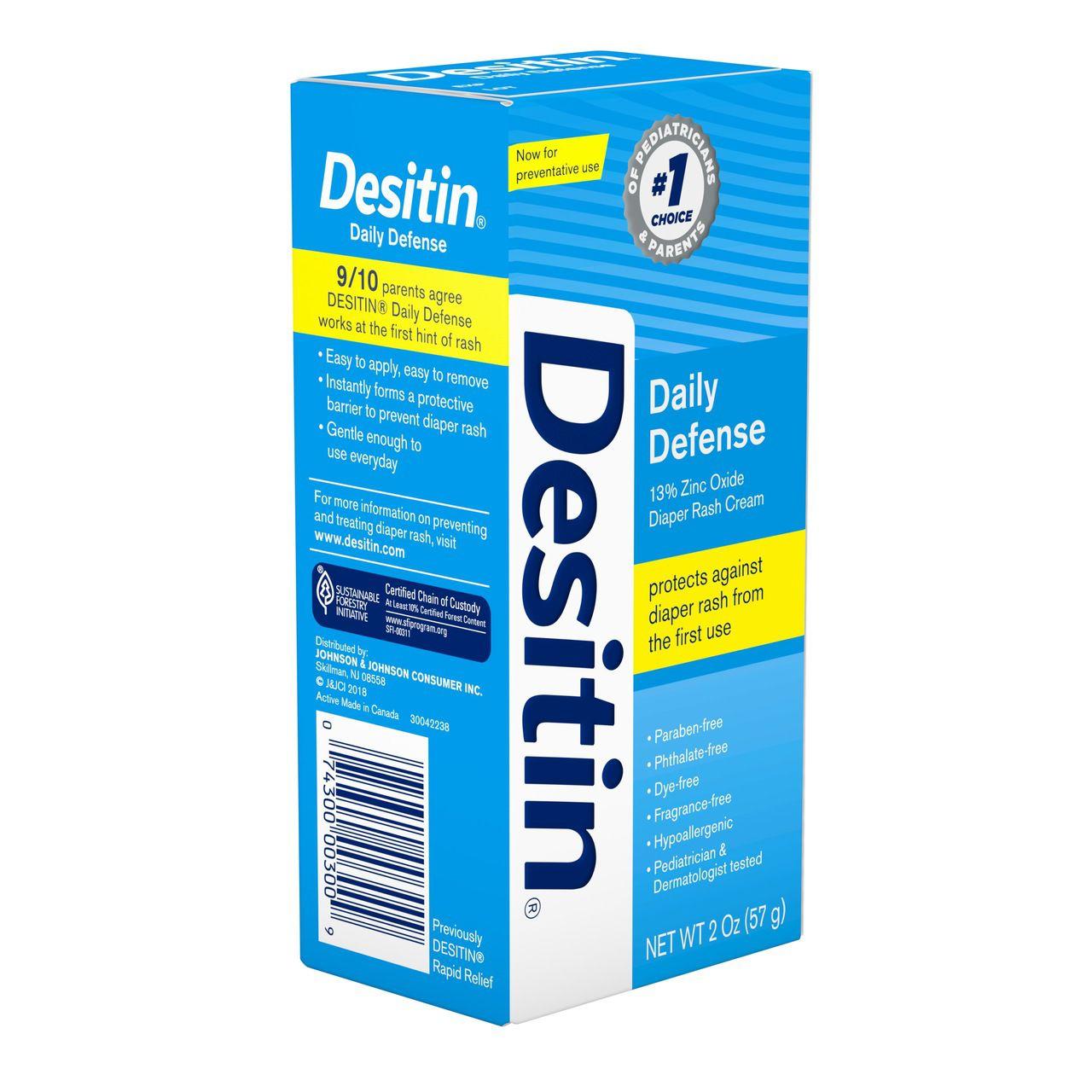Pomada Desitin Daily Defense Creme 113g - Promoção Validade 04/21
