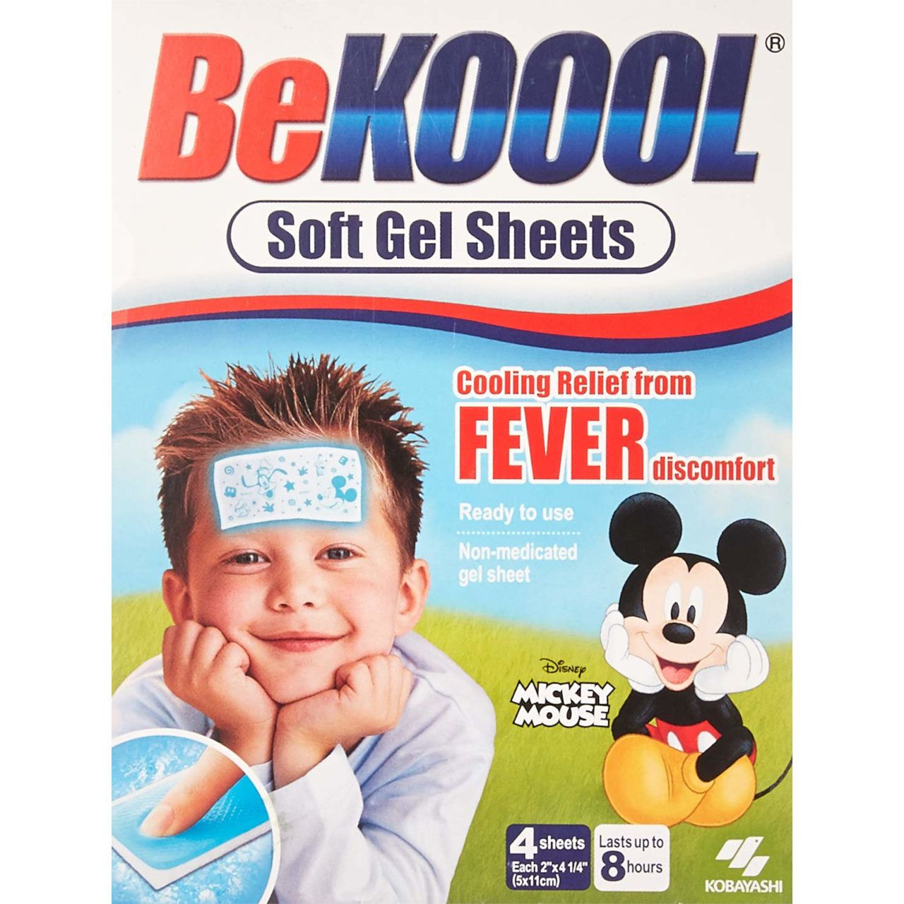 Folha em Gel BeKoool