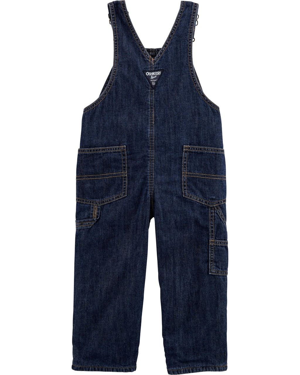 Jardineira Jeans Forrada Oshkosh