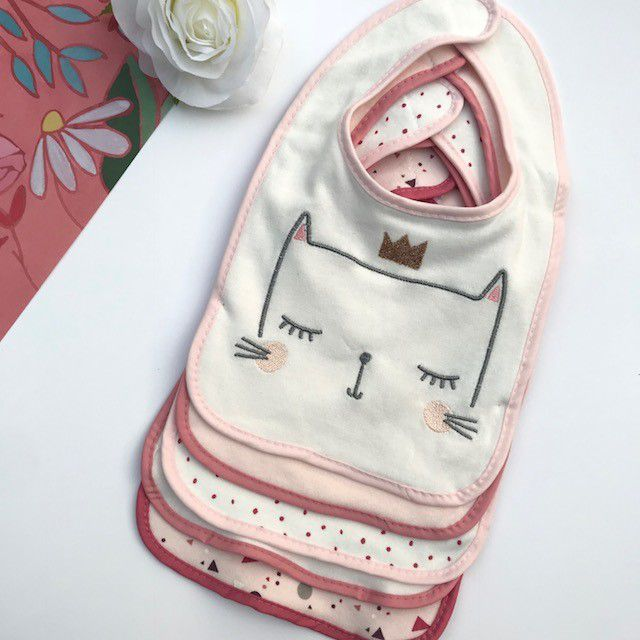 Kit 5 Babadores Modern Baby