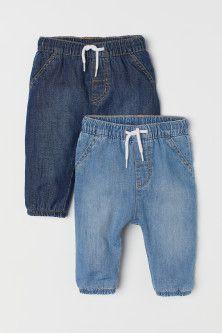 Kit c 2 Calças Jeans H&M