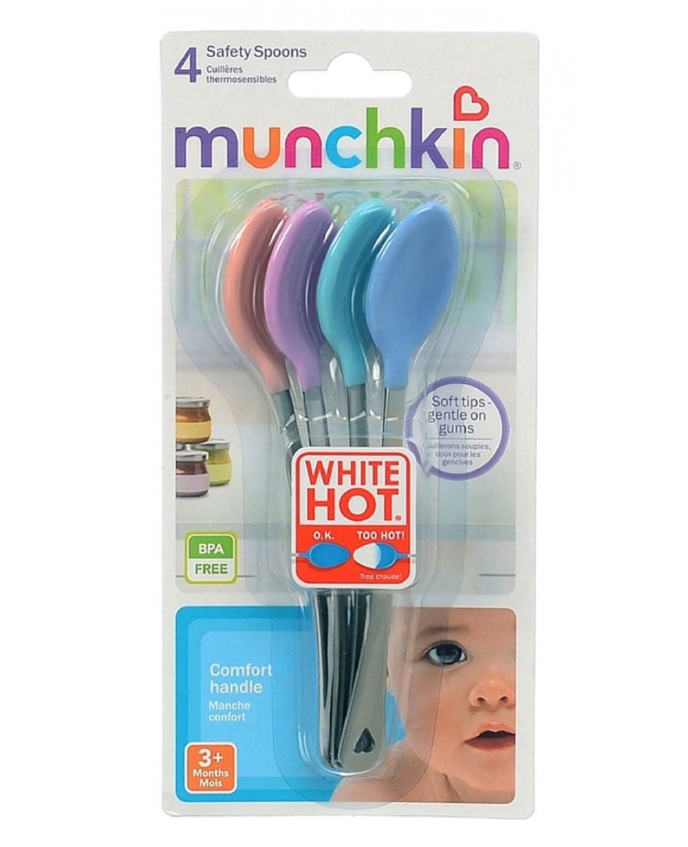 Kit Colher de Segurança White Hot Munchkin