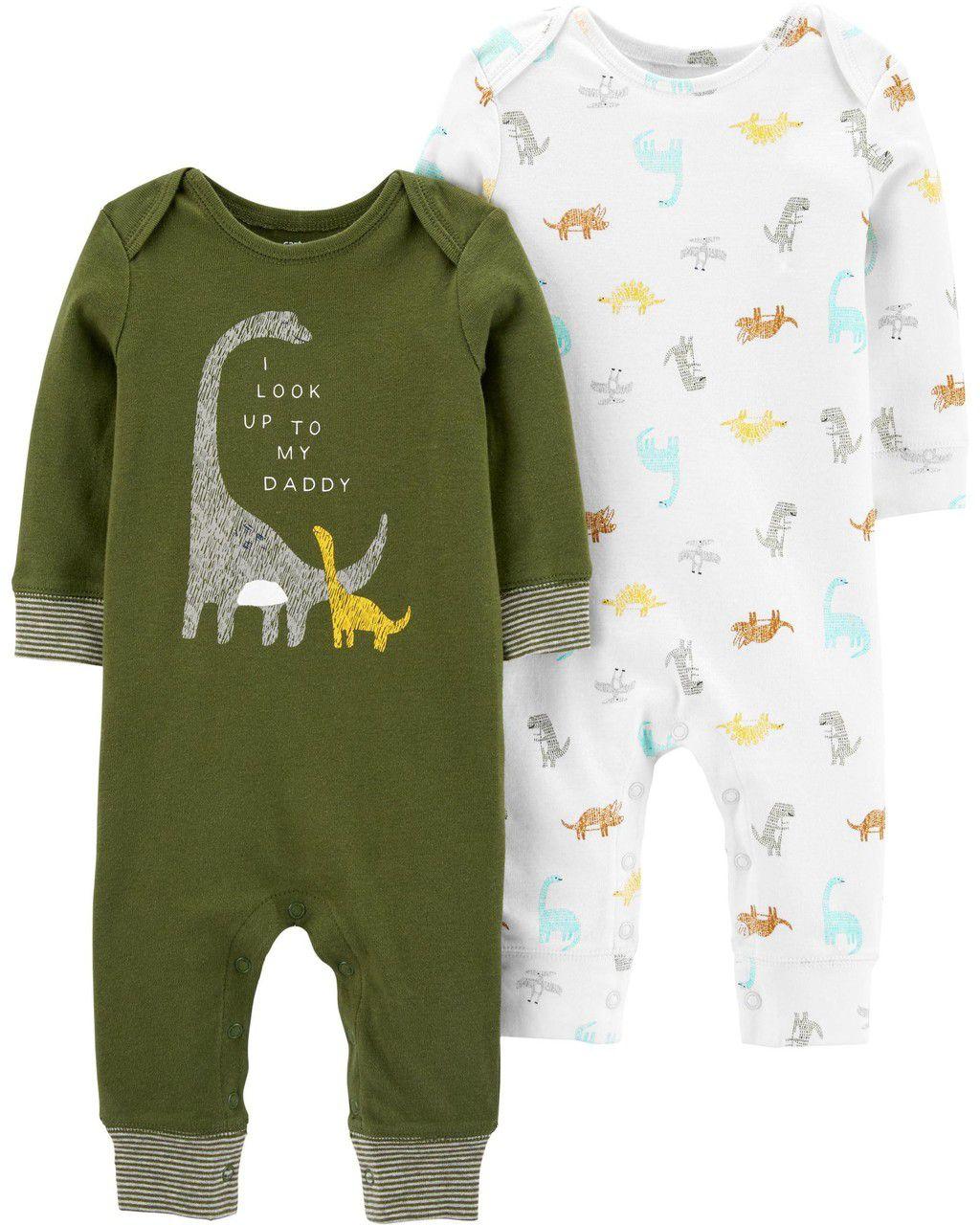 Kit com 2 Pijamas Dino