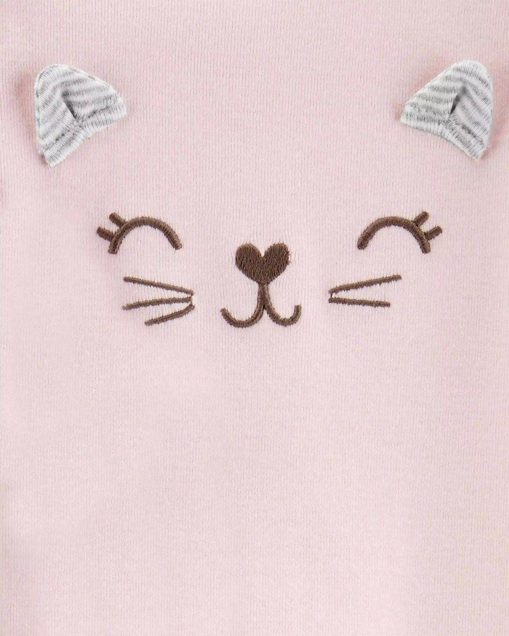Kit Conjunto e Pijama Gatinha Carter`s