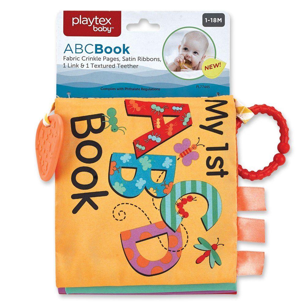 Livro de Dentição Playtex A B C