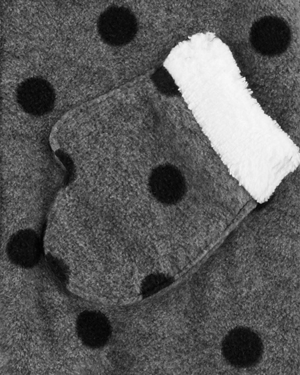 Macacão Carter's Bolas Fleece