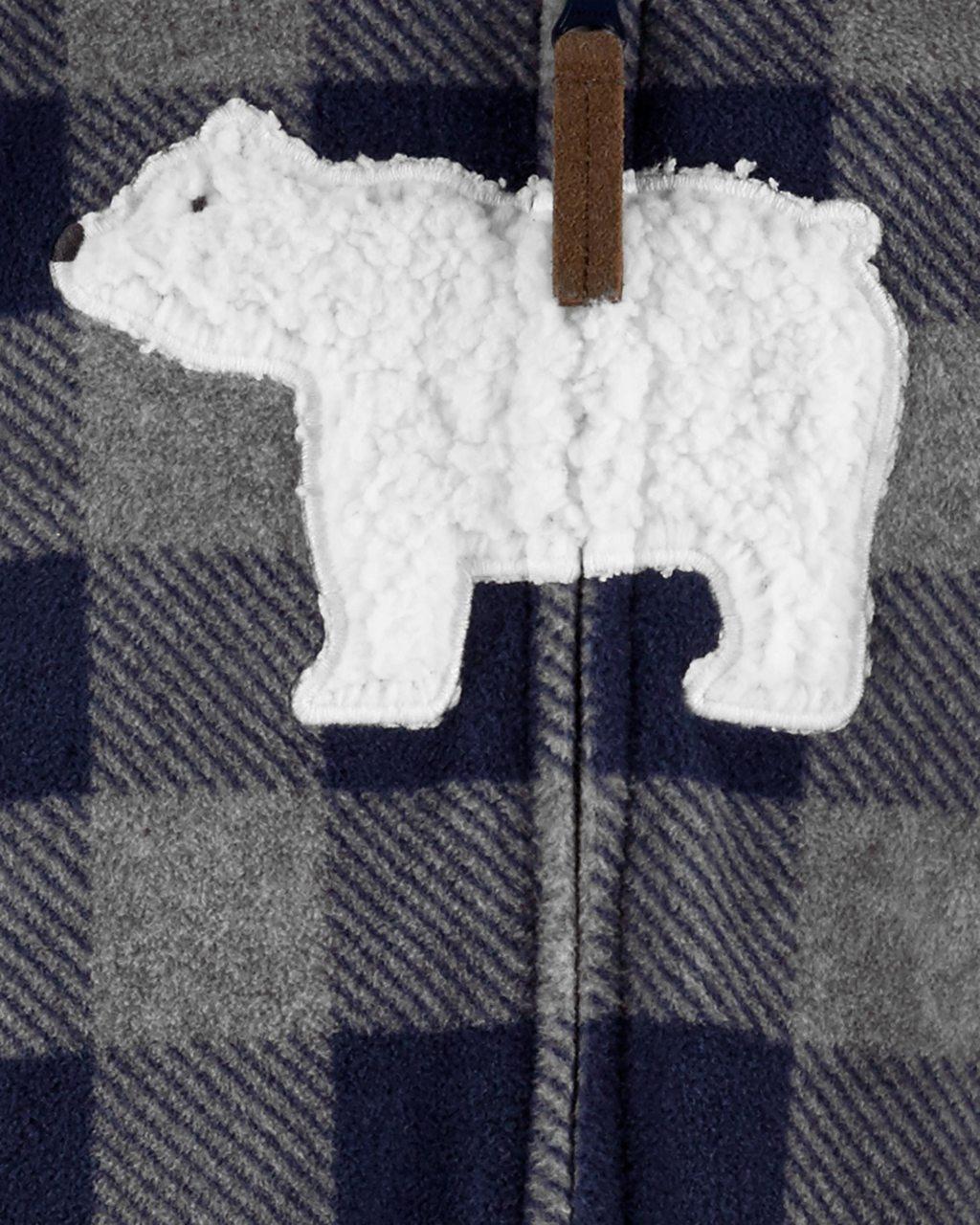 Macacão Buffalo Urso fleece