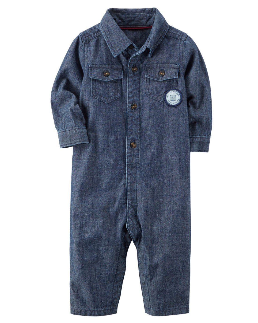 Macacão Carters Jeans
